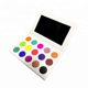 Cosmetic makeup 15 color wholesale glitter eyeshadow palette print your private label