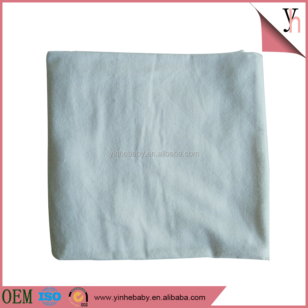 100% muslin plain white cotton baby swaddle blanket for babies
