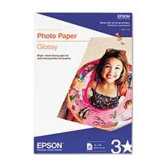 Glossy Photo Paper, 60 Lbs., Glossy, 13 X 19, 20 Sheets/pack By: Epson