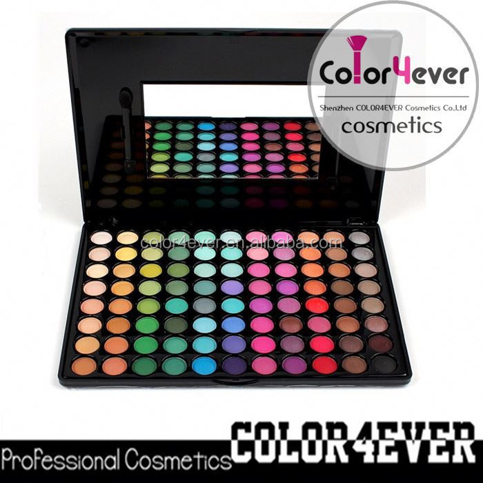 Superior Hot sales /Private label/Fashional Makeup products,Professional 120colors eyeshadow eyeshadow mixed color