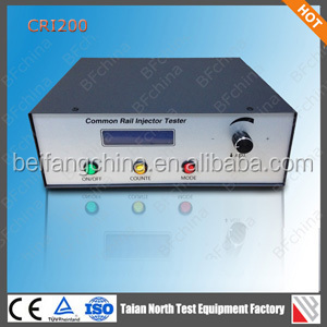 Electromagnetic injector and piezoelectric tester CRI200