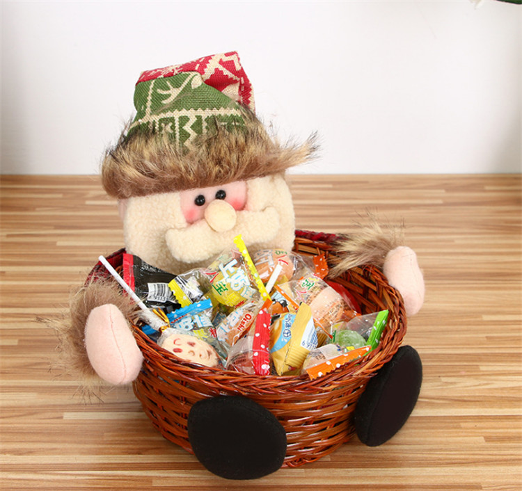 S L size christmas basket for candy