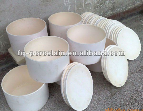 High Purity 99-99.7% Alumina Crucible For Laboratory Testing Applications