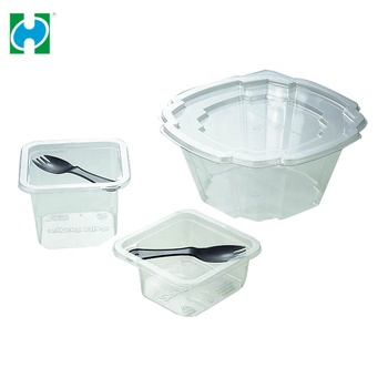 High-grade lowest price Meal Transparent Plastic Leakproof Food Container Box