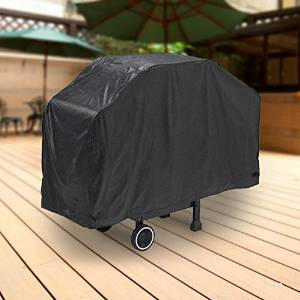 "North East Harbor Deluxe Waterproof Barbeque BBQ Grill Cover X-Large 71"" Length Black - 100% Waterproof Barbecue Propane Gas Grill Winter Storage Cover"