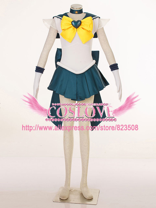103911a5d14 Get Quotations · High Quality Custom Made Sailor Uranus 3th Cosplay Costume  from Sailor Moon Anime For Christmas Plus