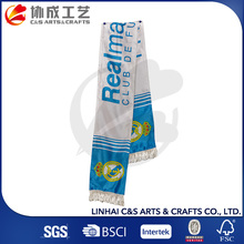 Chrismas 100% Polyester Promotions Mini Fans Football Scarf