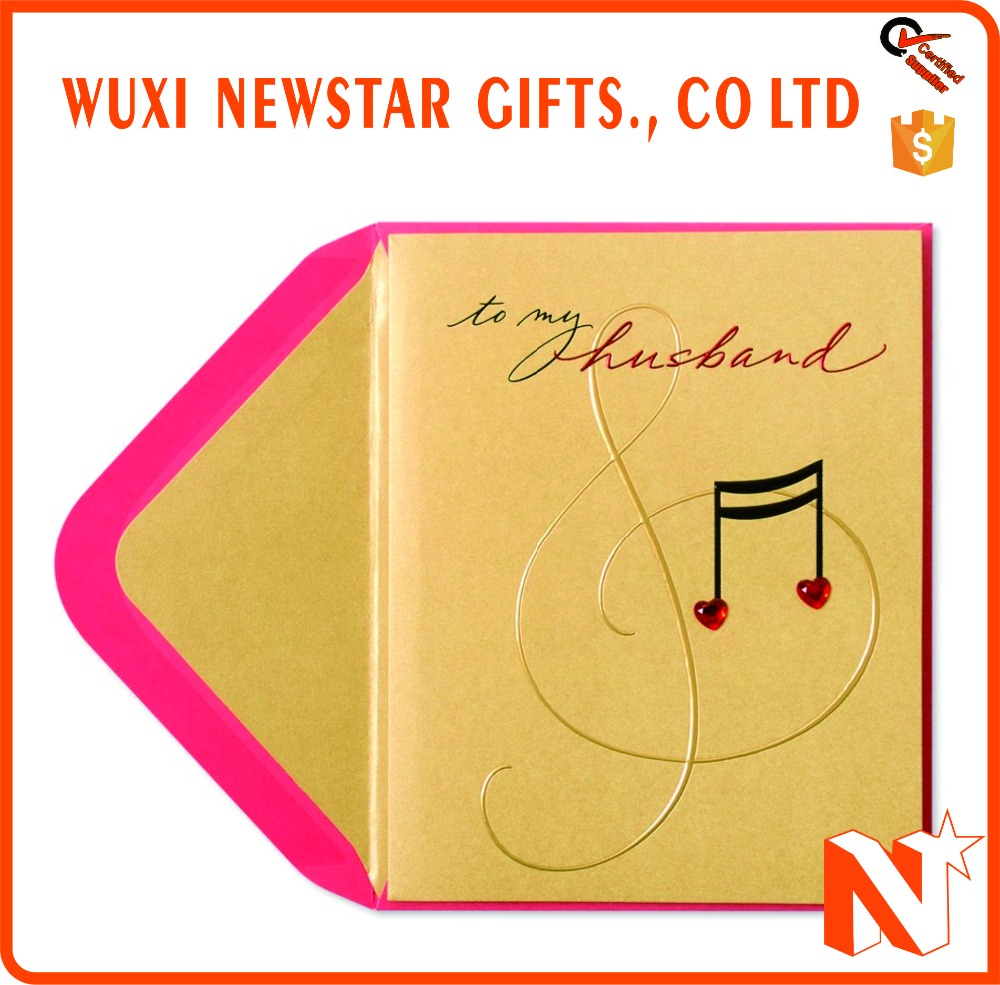 Custom musical greeting card wholesale greeting card suppliers custom musical greeting card wholesale greeting card suppliers alibaba kristyandbryce Gallery