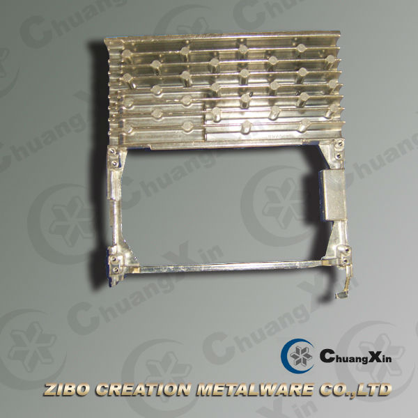 High efficiency small aluminum radiator