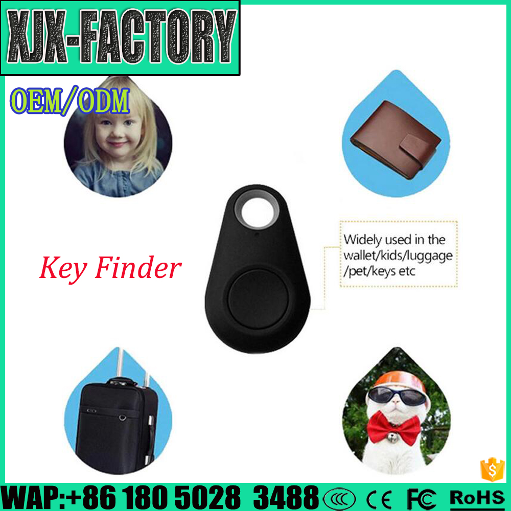 Top 3 factory!high density sweet key chain gps tracker anti lost alarm finder