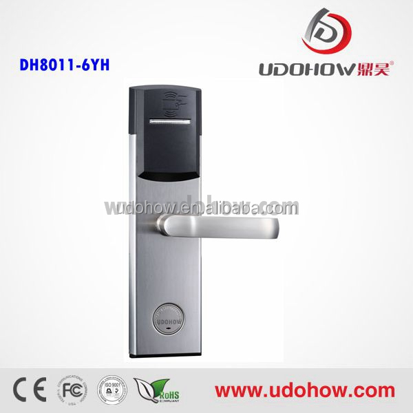 Elegant Design Digital RFID Card Door Lock For Hotel and Home Use