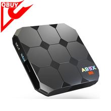 Shenzhen Factory of smart android tv box with android 7.1 amlogic s905w quad core a95x r2 2gb ram 16gb rom full stock