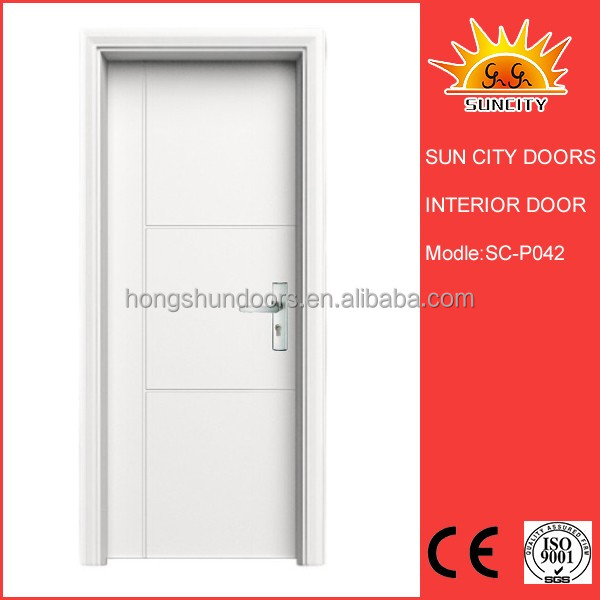 SC-P042 Cheap price modern latest design wooden door interior door room door