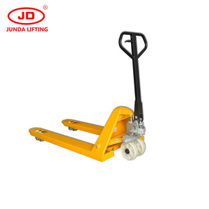 mini hydraulic hand pallet truck /manual operated pallet truck/straddle hand 3 ton pallet truck