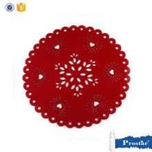 FELT Coaster Red Christmas placemat 10*10CM