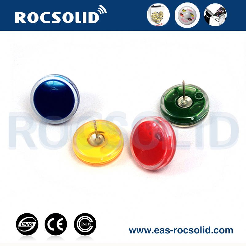 copper coil dome eas rf anti-theft ink tag with pin