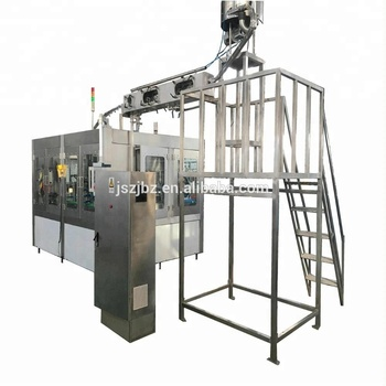 Full Automatic Complete Glass Bottle Pure Mineral Water Filling Production Line Filling Machine