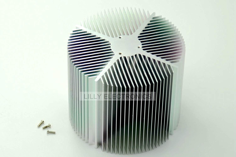 Aluminium Heat Sink/heatsink for 12v 20w Led Energy Saving Lamp