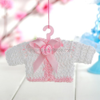 Mini Baby Shower Crochet Favors, Baby Decorative Gifts New(CZ 800)