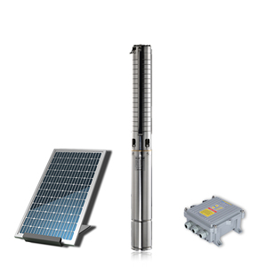 4inch Solar BLDC Water Pump,Stainless Steel Solar Irrigation Pump,Solar Powered Water Pump with mppt controller