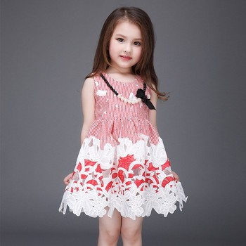 Children Clothing Wholese Baby Girls Dresses Fashion Summer Dress Party Wear L 115