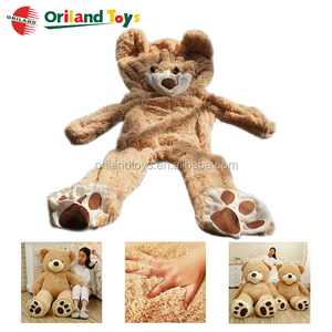 Over 30 years experience Wholesale unfilled big teddy bear skin 200cm