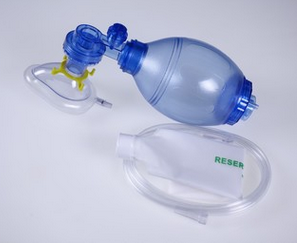 Factory Wholesale Henyo disposable resuscitation bag/Silicone Firs -aid resucitator /fashion breathing bag