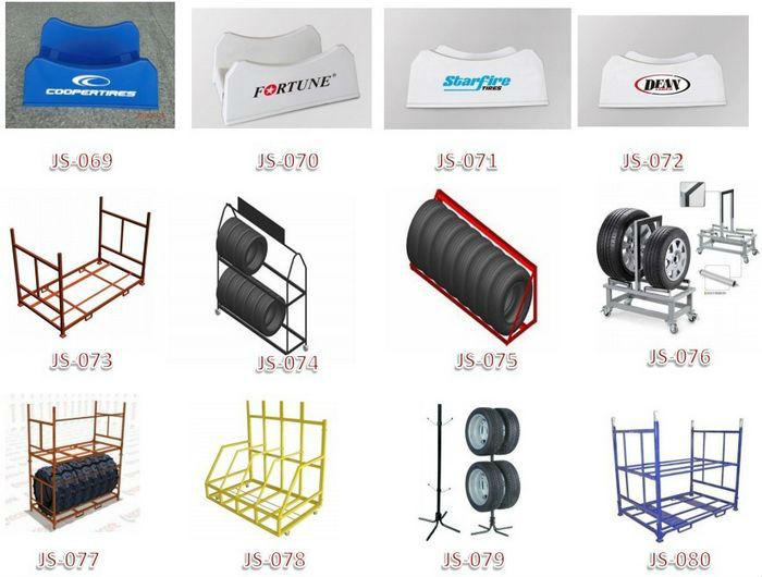 Manufacturer in China Hot Sale Best Quality Adjustable tire multi-functional stacking fire shelf