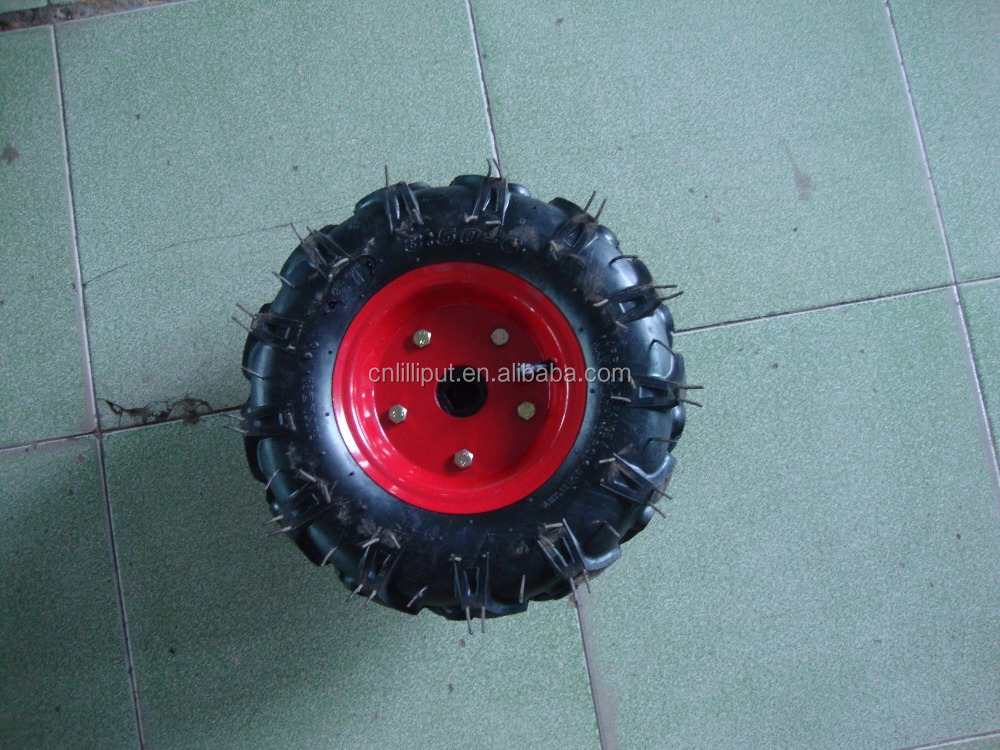 Rubber Tyre and Wheel for Power Tiller in Different Size