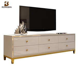 Metal legs OEM ODM available chinese living room display furniture sets modern contemporary tv stand