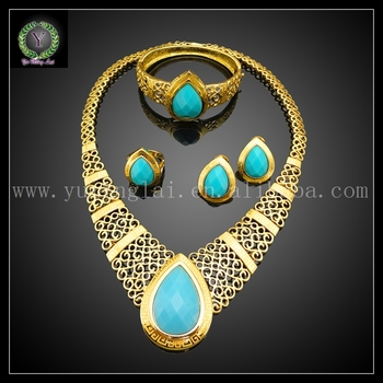 New Arrival 4pcs/set real 18K gold plated Jewelry set for woma bag and dress,jewelry set EHK230