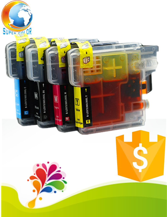 100% Good working LC60 compatible ink cartridge for Brother 365CN 375CW 385C 535CN 585CW 6690CN 6690CW printer