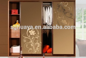 Modern Bedroom Sliding Door Wardrobe Design Indian Bedroom