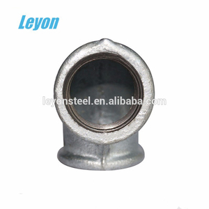 gi Pipe Fittings female elbow 90 degree bend