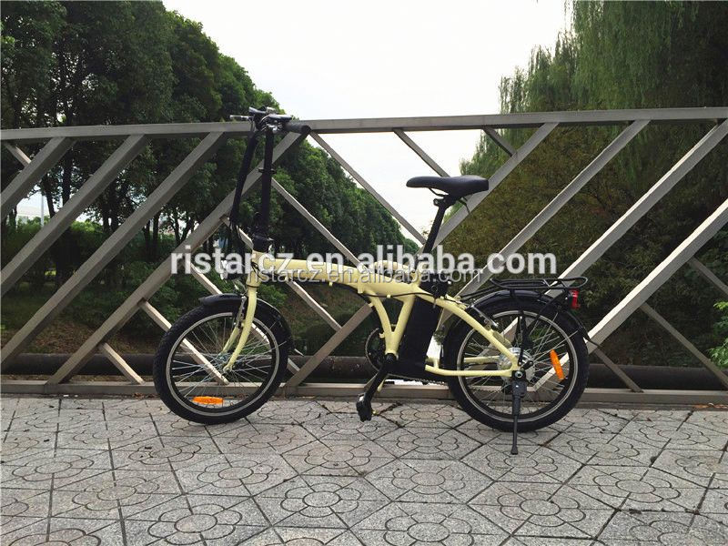 New product foldable 2014 new model folding electric bike with en15194 RSEB103