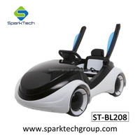 Hottest Selling Cool LED Light Apple Concept 6V LED Wheel Electric Kids Ride on Toy Car