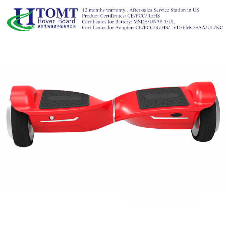 6.5inch Solid Tire Self Balancing Skateboard smart hoverboard lamborghini design self balancing two wheeler electric scooter
