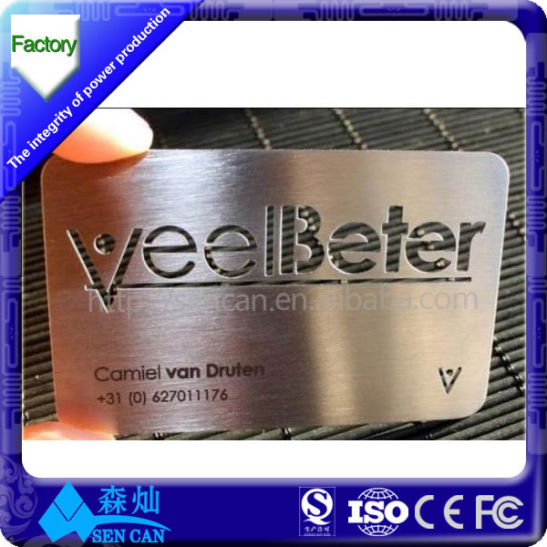 Over 13 years make metal card factory supplier stainless steel metal over 13 years make metal card factory supplier stainless steel metal business cardlaser cut reheart Images