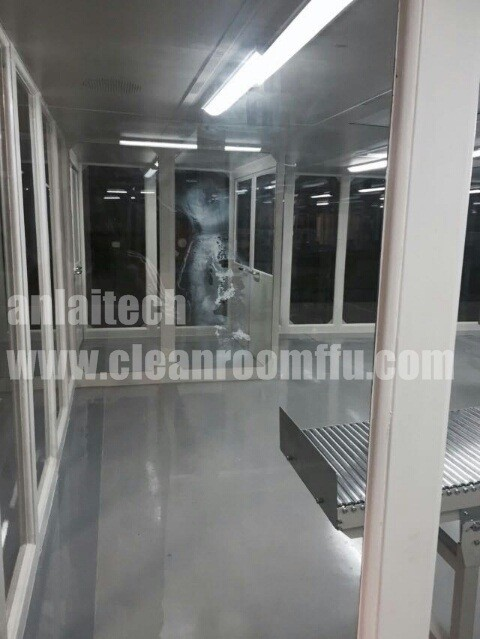 Captivating Class 100 Plexiglass Made Modular Clean Room Part 29
