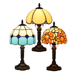 2018 factory price contemporary tifany flower lamps tiffany table lamp for living room wholesale