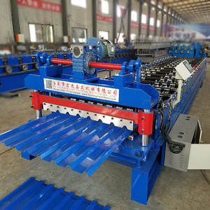 High RIB Roof Curved Soffit Wall / Panel Roll Forming Machine