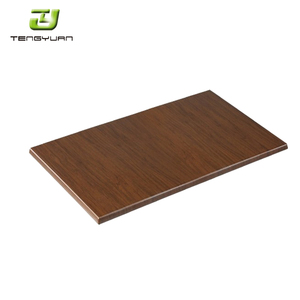 30*30 Restaurant Dining Table MDF Restaurant Dining Table Top with Wood Veneer Table Top