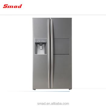 Superbe Side By Side Double Door Fridge Freezer Stainless Steel Refrigerators