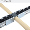 JY-2044EE | Colored zinc plated fluent joint with separation function to connect two racks