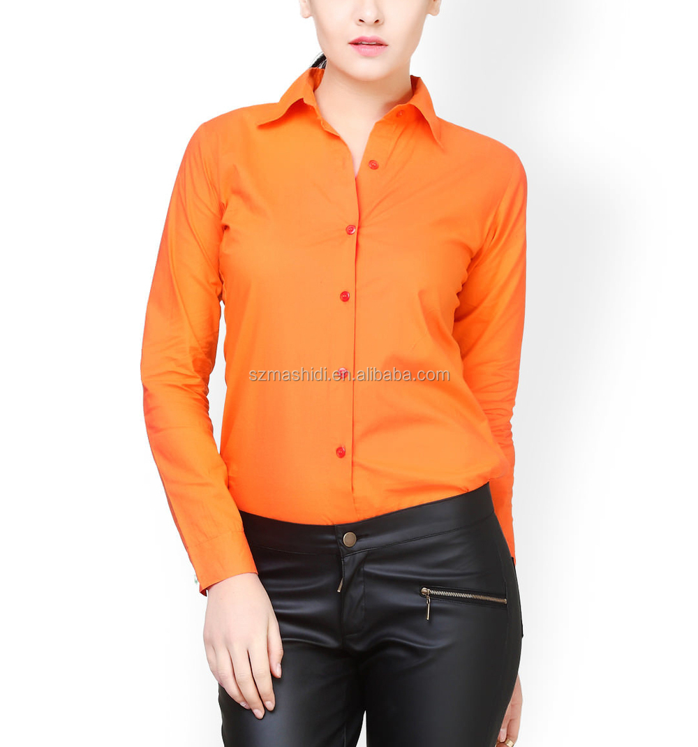 Shirt design ladies - Quick Dry 100 Cotton Shirts Ladies Cotton Shirt Ladies Shirt Design