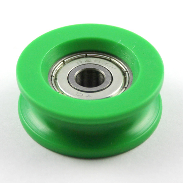 V Groove Roller For Guide Tracks Plastic Bearing Roller Pom ...