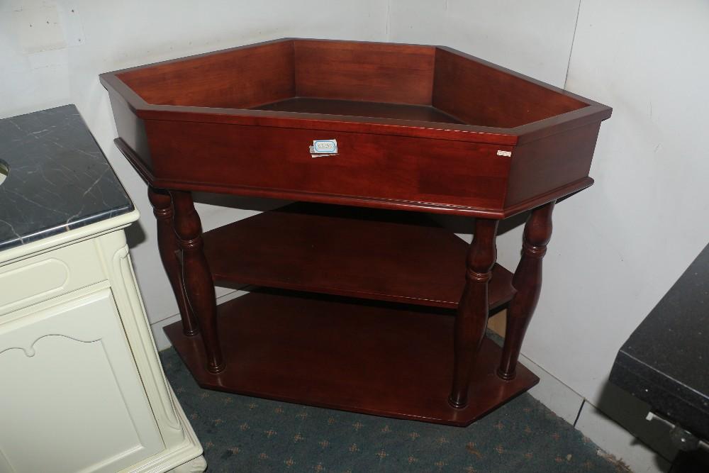 Houten Onderkast Badkamer : Antieke stijl hoek badkamer houten kast sink base buy antieke