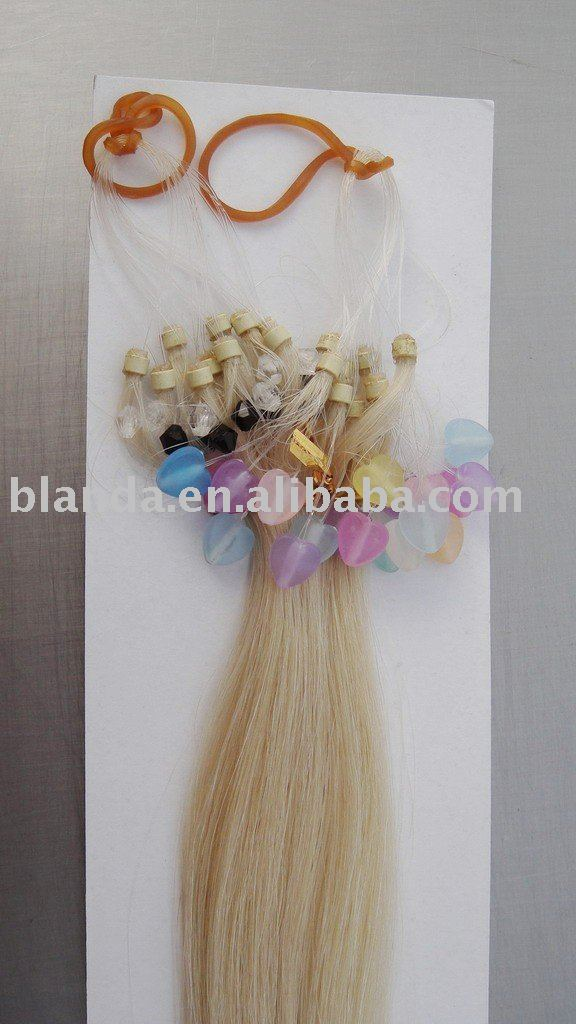 2013 Super Deal Products Brazilian Virgin Hair Extension,Silky Straight Micro ring loop human hair extension