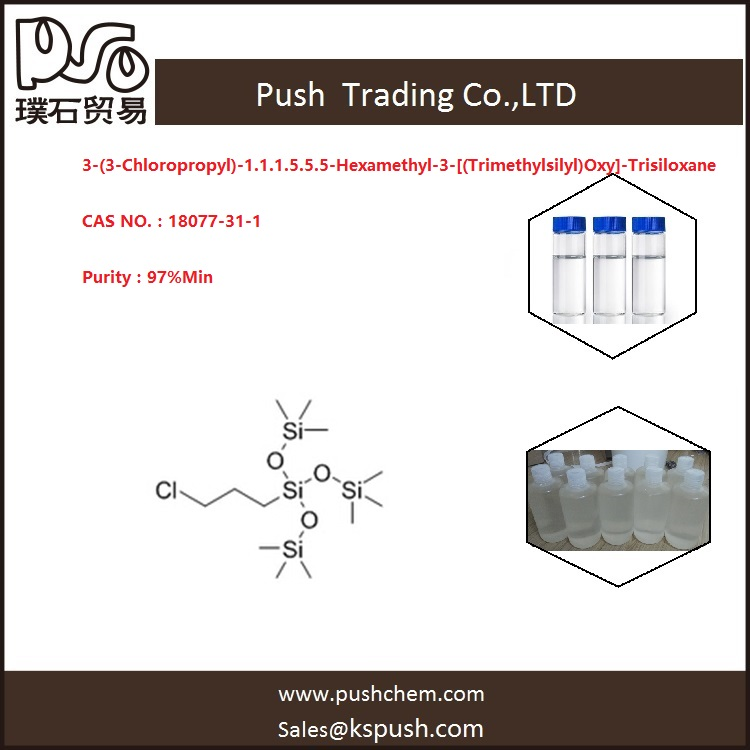 3-(3-Chloropropyl)-1.1.1.5.5.5-Hexamethyl-3-[(Trimethylsilyl)Oxy]-Trisiloxane 97%min 18077-31-1