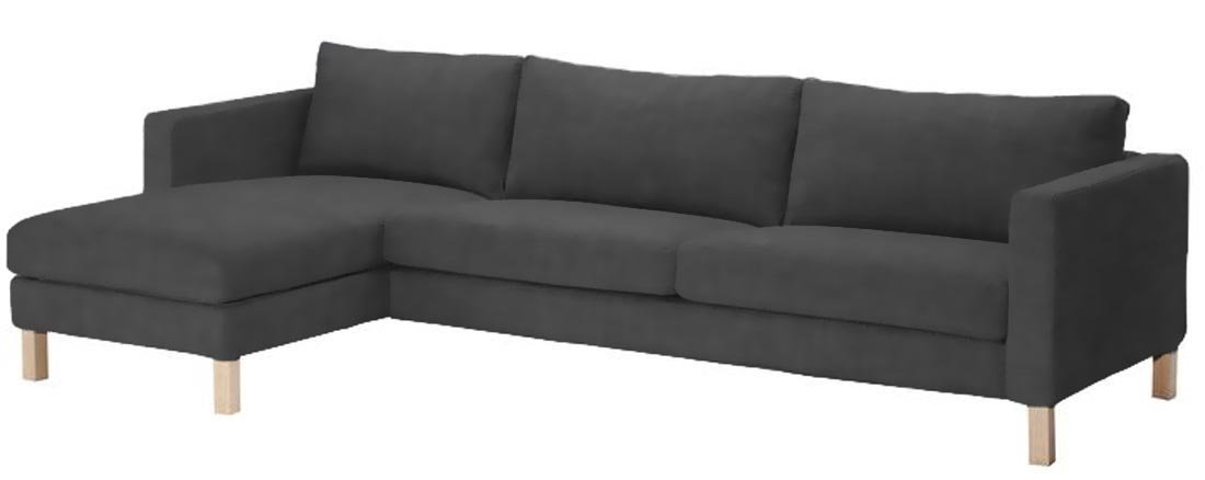 Get Quotations The Karlstad Three Seat Sofa And Chaise Lounge Sectional Cover Replacement Is Custom Made For Ikea